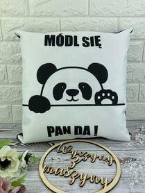 Poduszka dekoracyjna + velvet czarny